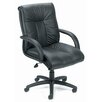 <strong>Contemporary Mid-Back Leather Office Chair</strong> by Boss Office Products