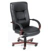 <strong>High-Back Italian Leather Executive Chair</strong> by Boss Office Products
