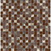 Surfaces Elida Stone Glossy Mosaic in Cherry