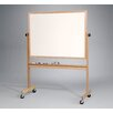 "<strong>Deluxe Reversible 2'6"" H x 3'4"" L Whiteboard</strong> by Best-Rite®"
