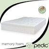 "BioPEDIC 12"" Euro Majestic Memory Foam Mattress"