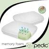 BioPEDIC Memory Foam Comfort Pillow (Set of 2)