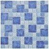 "EliteTile Pool 2"" x 2"" Porcelain Mosaic in Adriatic"