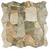 """EliteTile Atticas 17.75"""" x 17.75"""" Ceramic Glazed Tile in Gris"""