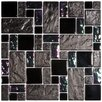 <strong>Eden Random Sized Polished Glass and Stone Versailles Mosaic in Iris</strong> by EliteTile