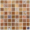 <strong>Tesselar Valise Glazed Ceramic Mosaic in Earth Tones</strong> by EliteTile
