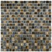 "Isle 11-3/4"" x 11-3/4"" Porcelain Mosaic Wall Tile in Baltica"
