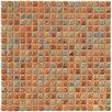 """EliteTile Arcadia 9/16"""" x 9/16"""" Glazed Porcelain Mosaic in Tundra Beige"""