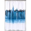 <strong>Carnation Home Fashions</strong> Cityscape Polyester Shower Curtain