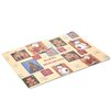 Carnation Home Fashions Happy Holidays Expanded Placemat (Set of 4)