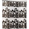 "Carnation Home Fashions ""Cityscape"" Peva Shower Curtain"