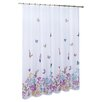 United Curtain Co. Butterfly Polyester Shower Curtain