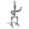 "<strong>Metrotex Designs</strong> Industrial Evolution Robot 18"" H Table Lamp"