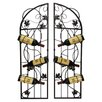 French Vineyard 6 Bottle Wine Rack (Set of 2)