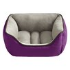 <strong>Halo Pets</strong> Reversible Rectangular Cuddler Bolster Dog Bed