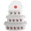 <strong>Corelle Coordinates 3 Piece Microwave Cookware and Storage Set</strong> by Reston Lloyd