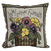 <strong>American Mills</strong> Welcome Friends Pillow (Set of 2)