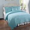 American Traditions French Tile Twin Quilt