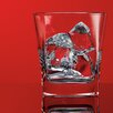 Home Essentials and Beyond Red Series 10 oz. Square Double Old Fashioned Glass (Set of 4)