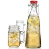 Home Essentials and Beyond Ice Cold 3 Piece Bottle Jar Set