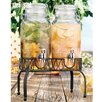 Home Essentials and Beyond Del Sol Ice Twin 3 Liter Dispenser