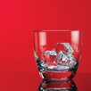 Red Series 10 oz.. Round Double Old Fashioned Glass (Set of 4)