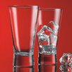 <strong>Home Essentials and Beyond</strong> Red Series 12 oz. V Line Highball Glass (Set of 4)