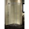 Aston Completely Frameless Round Sliding Shower Door Enclosure