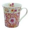 Zrike Dena Home London Flowers Mug (Set of 4)