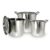 Cook Pro 6 Piece Stock Pot Set