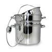 <strong>Cook Pro</strong> 5 Piece Stainless Steel Multi-Cooker Set