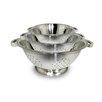 Cook Pro 3 Piece Stainless Steel Colander Set