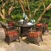 <strong>Serengeti 5 Piece Dining Set</strong> by Woodard