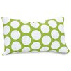 Majestic Home Products Large Polka Dot Pillow