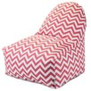 Majestic Home Products Chevron Bean Bag Chair