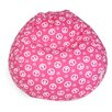 <strong>Peace Bean Bag Chair</strong> by Majestic Home Products