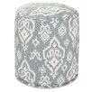 Majestic Home Products Raja Small Pouf