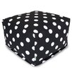 Majestic Home Products Polka Dot Large Ottoman