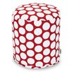 Majestic Home Products Polka Dot Small Pouf