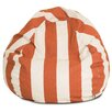 Majestic Home Products Vertical Stripe Bean Bag Chair