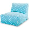 Majestic Home Products Small Polka Dot Bean Bag Lounger