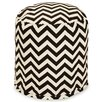 Majestic Home Products Chevron Small Pouf