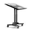Cotytech Adjustable Ergonomic Mobile Touchscreen Cart