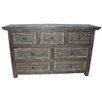 MOTI Furniture Urban 7 Drawer Dresser