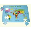 <strong>World Map Floor Puzzle</strong> by edushape