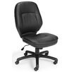 <strong>High-Back Leatherette Ergonomic Confrence Chair</strong> by OFM