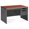 <strong>OFM</strong> Mesa Series Single Pedestal Computer Desk with Center Drawer