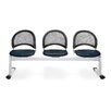 OFM Stars and Moon  Mesh Three Chair Beam Seating