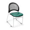 OFM Moon Vinyl Stack Chair (Set of 4)