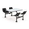 "24"" x 48"" Group/Cluster Table and Chairs with Laminate Tops"